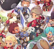 [DS] Dragon Saga Emporia War Sticker
