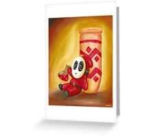 Shy Guy and the Magic Potion Greeting Card