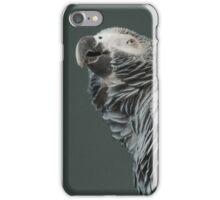 Suspicious parrot iPhone Case/Skin