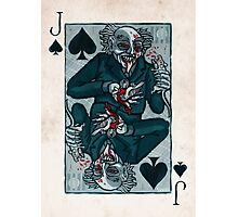 Knock, Vampire Jack of Spades Photographic Print