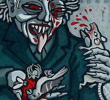 Knock, Vampire Jack of Spades by pixbyr