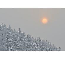 Alpine Sunset Photographic Print