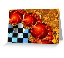 Red Cheese Balls Greeting Card