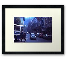 Waiting For The Tour 1973 Framed Print