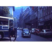 Waiting For The Tour 1973 Photographic Print