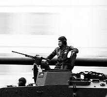 Military Parade  by Sergey Bezberdy