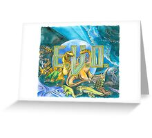 EVO Search for Eden Greeting Card