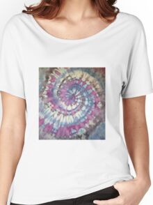 The mauve spiral Women's Relaxed Fit T-Shirt