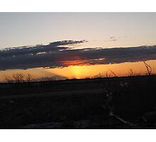 sunrise part d,march ten 2010 Photographic Print