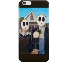 Shyguy Gothic - American Gothic iPhone Case/Skin