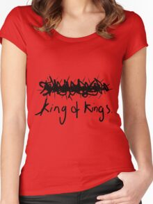 King Of Kings - Faith Lift Women's Fitted Scoop T-Shirt