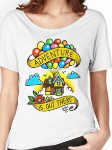 Adventure is Out There! Women's Relaxed Fit T-Shirt