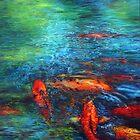 Koi Pond by soonywarren