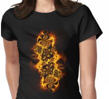 Autumn's Ablaze tee Womens Fitted T-Shirt