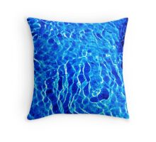 Japanese Reiki Distant Healing Treatment (Feeling Sunshine Through The Water) Throw Pillow