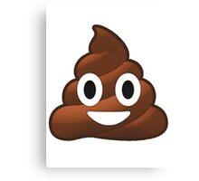 Poop Canvas Print