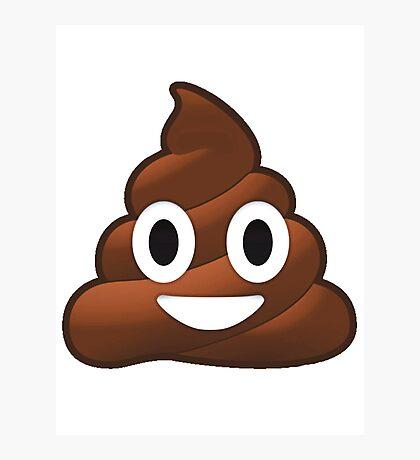 Poop Photographic Print