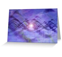 Call of the Far Distant Worlds Greeting Card