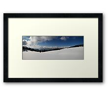 The great White Framed Print
