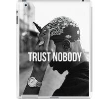 "2Pac ""Trust Nobody""  iPad Case/Skin"