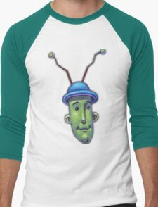 Verno the Alien  Men's Baseball ¾ T-Shirt