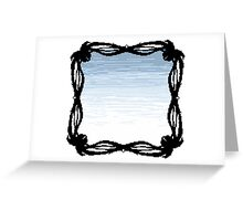 Pixel Sky- Midday Greeting Card
