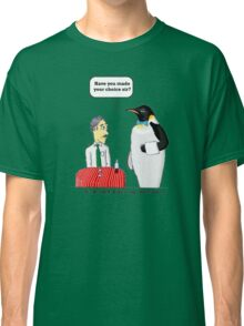 vision of penguin Classic T-Shirt