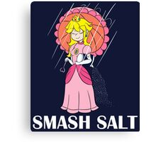 Super Smash Brothers - Smash Salt Canvas Print