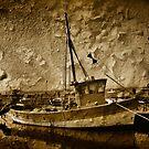 Fisher Boat by jean-louis bouzou
