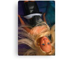 Water Barbie Canvas Print