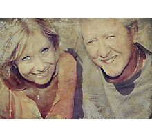 Mom and Dad Photographic Print