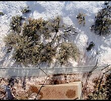 Snow Fence Taos by zoopsia