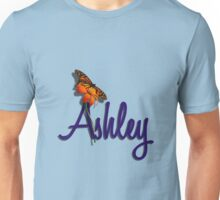 Ashley with Butterfly Unisex T-Shirt