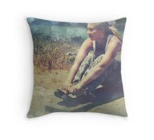 Weight of the World Throw Pillow