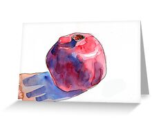 The Mystical Pomegranate Greeting Card