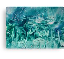 cold spell in spring Canvas Print