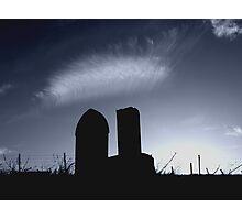 Carlton Graveyard Photographic Print