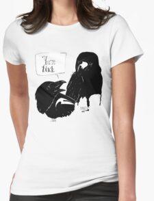 The Crow Calls the Raven Black T-Shirt