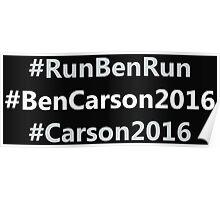 #RunBenRun  Poster