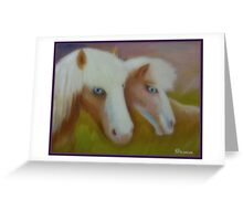 Blue Eye Brothers Greeting Card