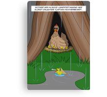 Poultry Piracy Canvas Print