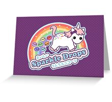 Cute Pooping Unicorn Greeting Card
