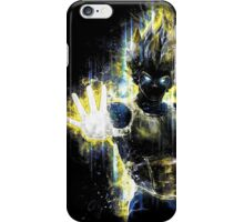 Dragon Ball Z Inspired Vegeta Epic Portrait iPhone Case/Skin