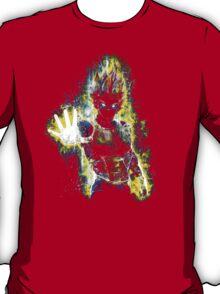 Dragon Ball Z Inspired Vegeta Epic Portrait T-Shirt