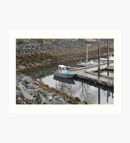 Small Boat in Sitka Art Print