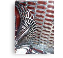 Grille Metal Print