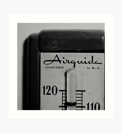 thermometer.  Art Print
