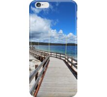 Landscape - Wooden Walk by the Lake iPhone Case/Skin
