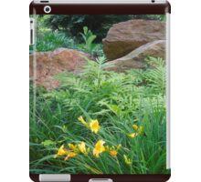 Cinnamon Fern and Boulder Garden iPad Case/Skin