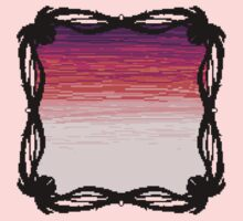 Pixel Sky- Sunset Kids Tee